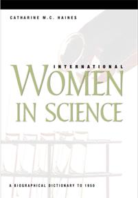 Cover image for International Women in Science