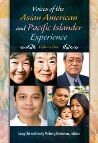 Cover image for Voices of the Asian American and Pacific Islander Experience