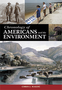 Chronology of Americans and the Environment cover image
