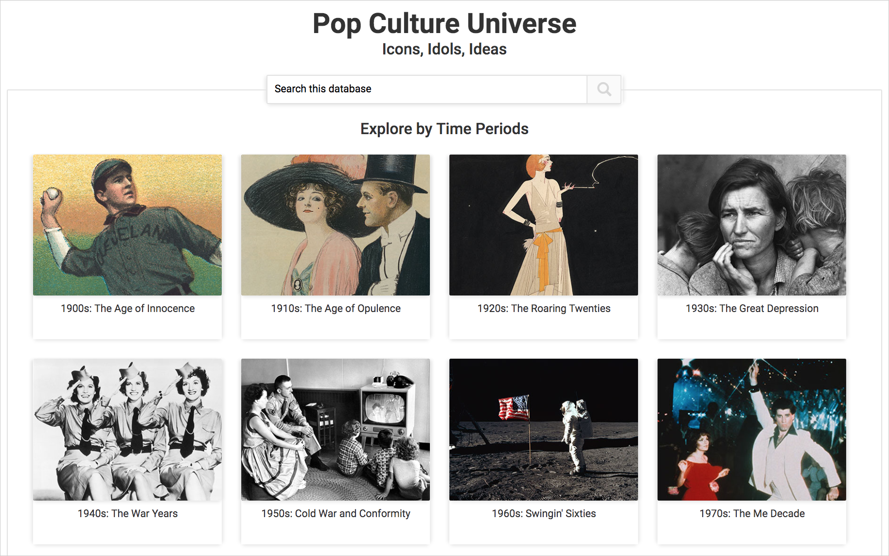 Pop Culture Universe cover image