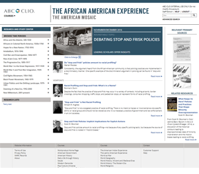 The African American Experience cover image