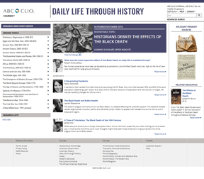 Cover image for Daily Life through History