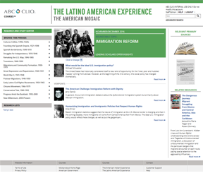 The Latino American Experience cover image