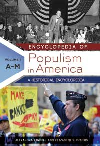 Cover image for Encyclopedia of Populism in America