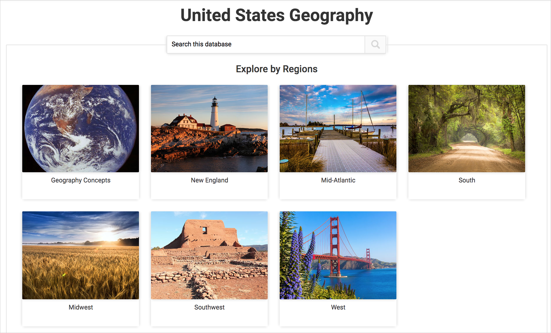 United States Geography cover image