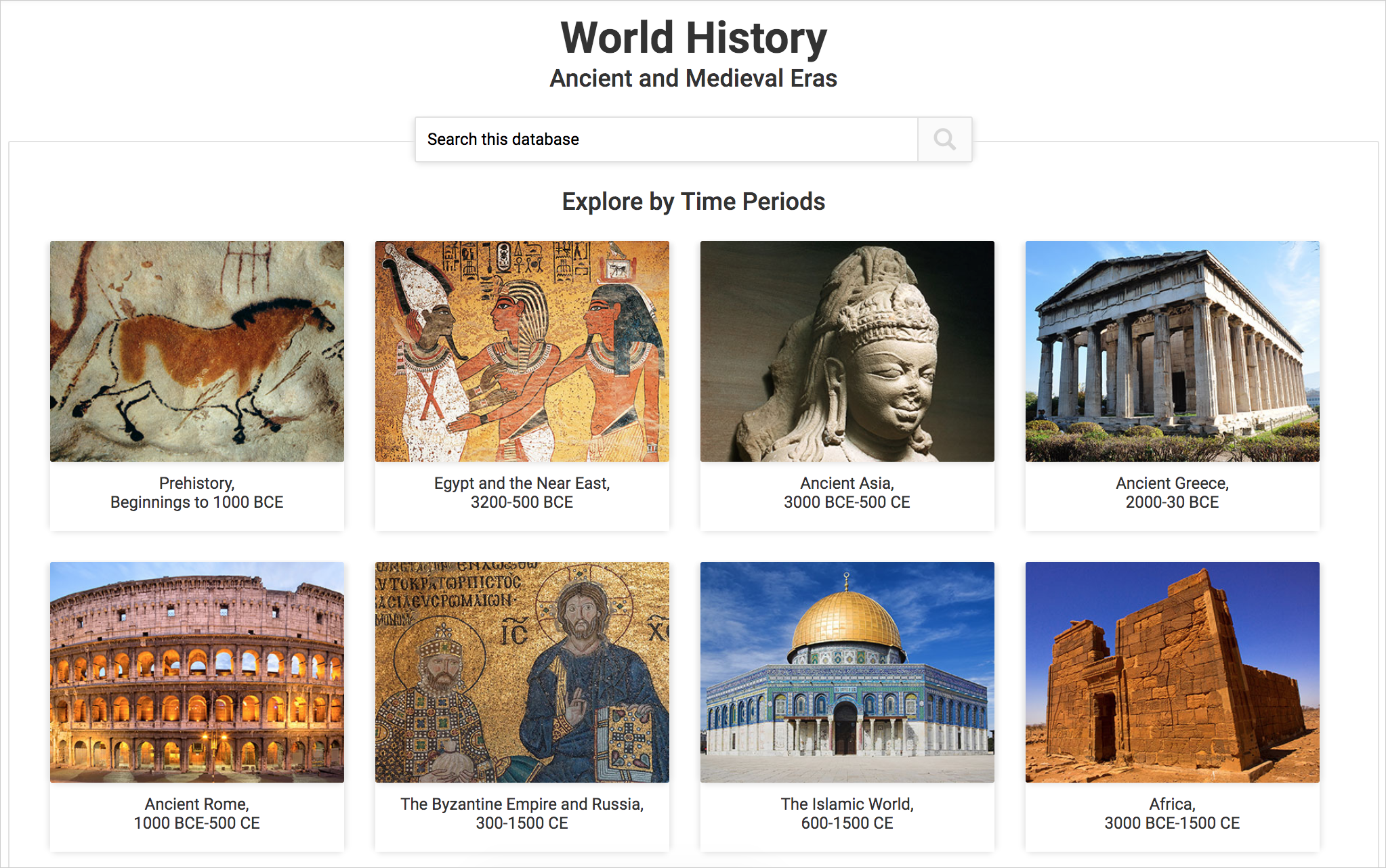 World History cover image