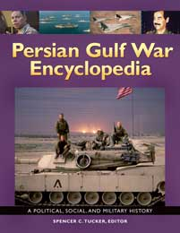 Persian Gulf War Encyclopedia cover image