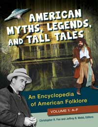 Cover image for American Myths, Legends, and Tall Tales