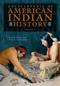 Cover image for Encyclopedia of American Indian History
